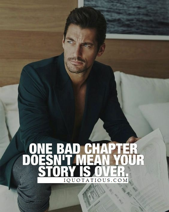 One bad chapter doesn't mean your story is over.