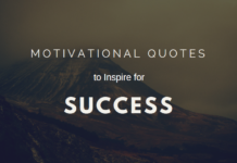 40+ Motivational quotes to inspire for success - inspiratioanl quotes
