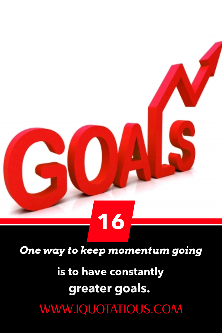 Greater Goals
