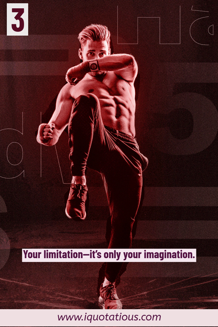your limits are imagined